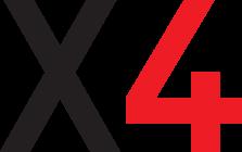 X4 Designbyrå Logotyp